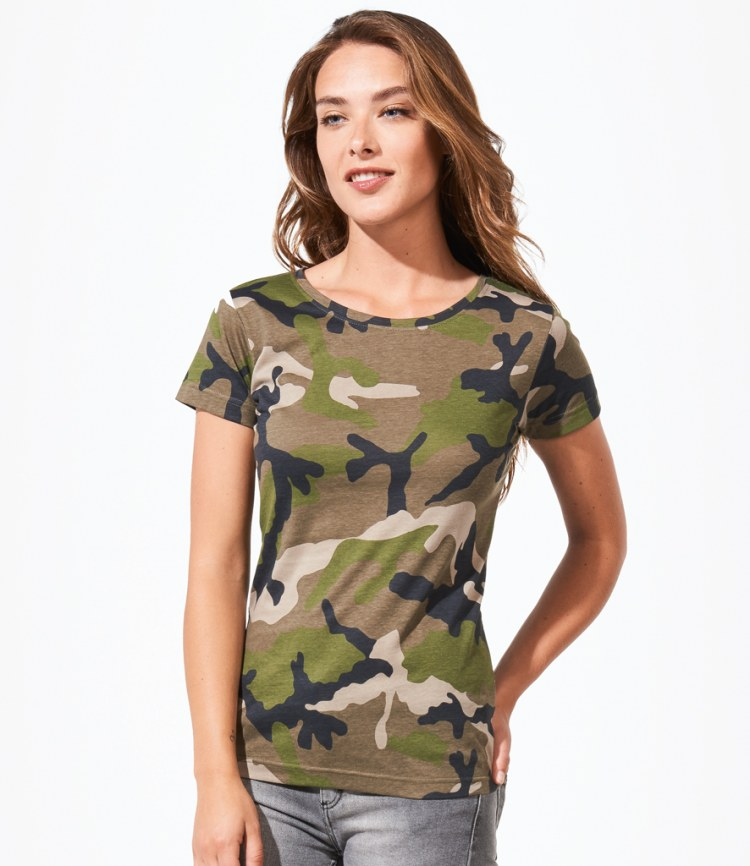 227a60cf JH Fitness Academy Mens Sports Dri Camo T Shirt 8 colours Source · SOL s Ladies  Camo T Shirt Fire Label