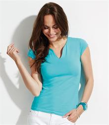 SOLs Ladies Mint Stretch T-Shirt