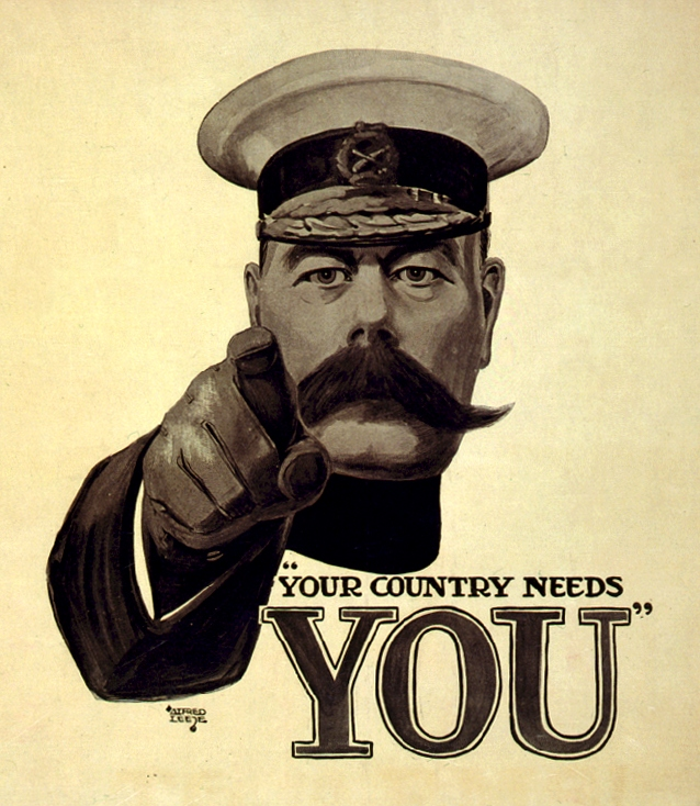 Your Country Needs You (in a t-shirt)