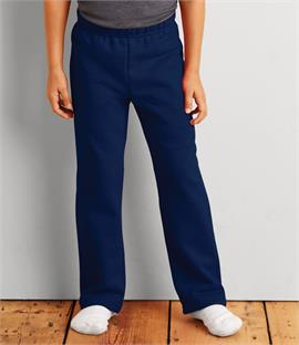 Gildan Heavy Blend Kids Open Hem Jog Pants