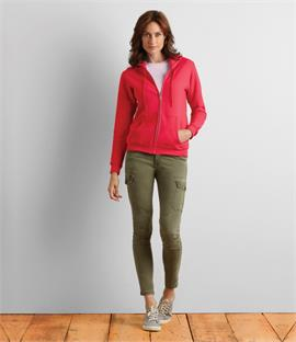 Gildan Heavy Blend Ladies Zip Hooded Sweatshirt