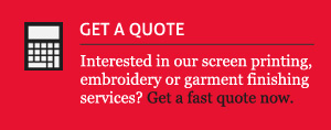 Get a Screen Printing Quote