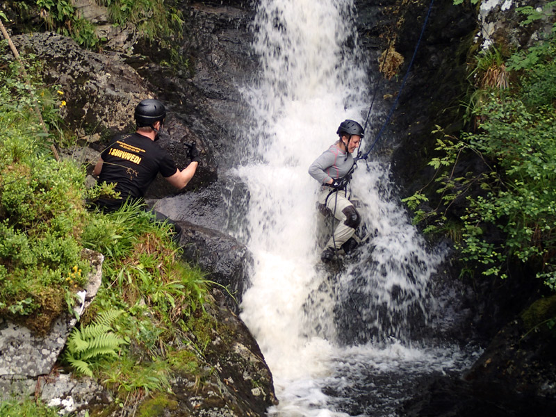 Bear Grylls Waterfall