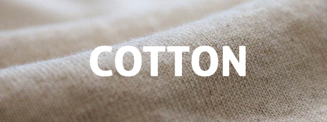 Cotton - open-end, ringspun, combed