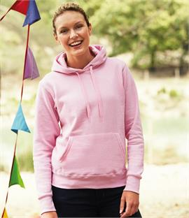 Fruit of the Loom Lady Fit Hooded Sweatshirt