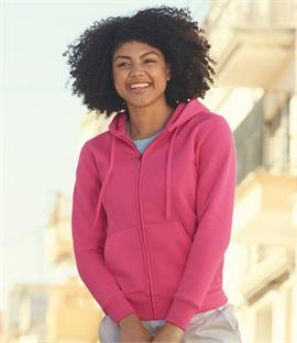 Fruit of the Loom Lady Fit Zip Hooded Jacket