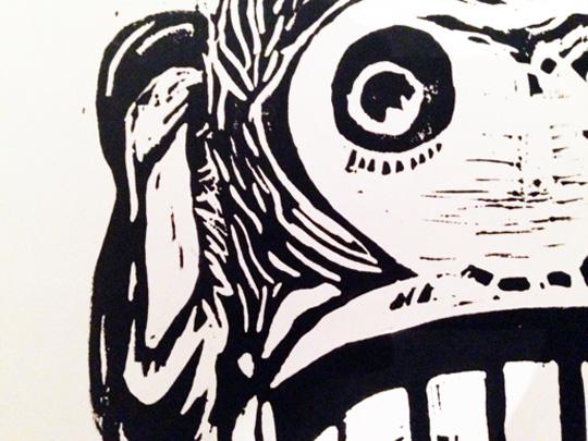 Monkey Sketch Illustration