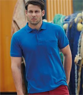 Fruit of the Loom Pocket Pique Polo Shirt