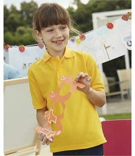 Fruit of the Loom Kids Pique Polo Shirt