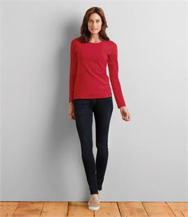 Gildan Ladies SoftStyle Long Sleeve T-Shirt