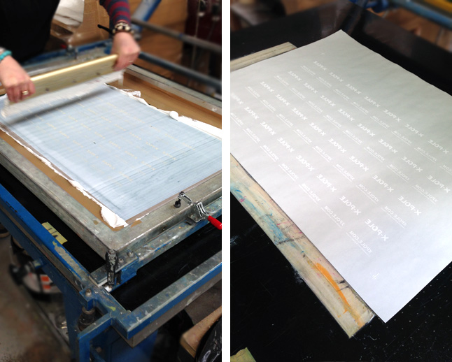 Screen print transfer