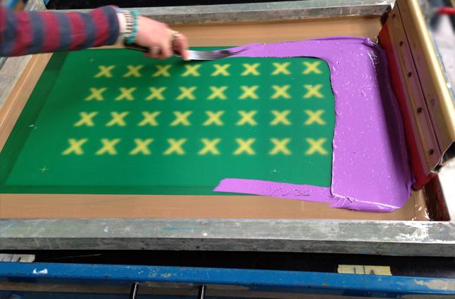 Screen printing transfer