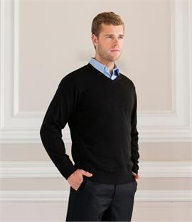 Russell Collection V Neck Sweater