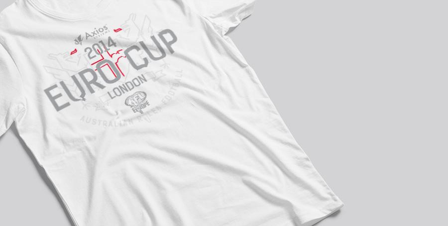 AFL Europe t-shirt