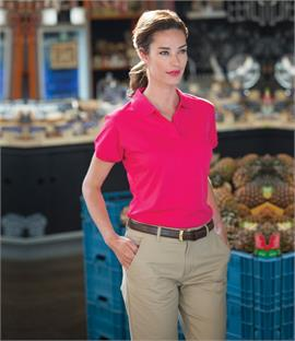 Henbury Ladies Coolplus Polo Shirt