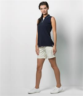 Gamegear Ladies Proactive Sleeveless Pique Polo Shirt
