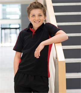 Finden & Hales Kids Sports Pique Polo Shirt