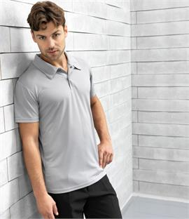 Premier Coolchecker Stud Pique Polo Shirt