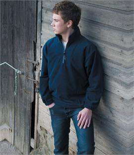 Result Kids/Youths Zip Neck Active Fleece