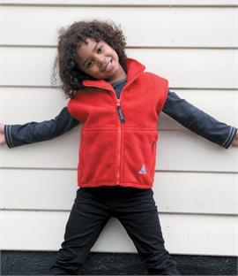 Result Kids/Youths Active Fleece Bodywarmer
