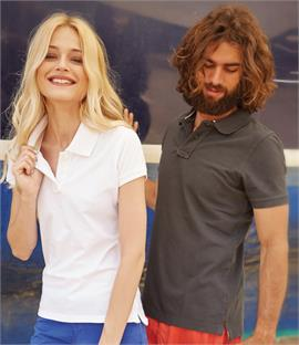 Kariban Vintage Cotton Pique Polo Shirt