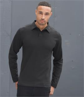 Skinnifitmen Long Sleeve Modern Stretch Polo Shirt