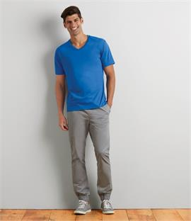 Gildan Premium Cotton V Neck T-Shirt