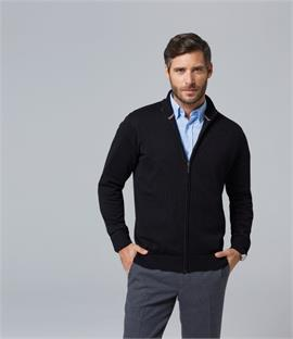 SOLS Gordon Full Zip Cotton Acrylic Cardigan