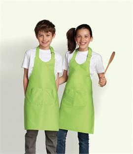 SOLS Kids Gala Long Bib Apron