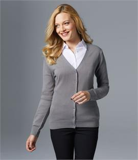 SOLS Ladies Golden Cotton Acrylic V Neck Cardigan