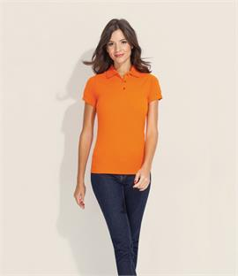 SOLS Ladies Prime Poly/Cotton Pique Polo Shirt