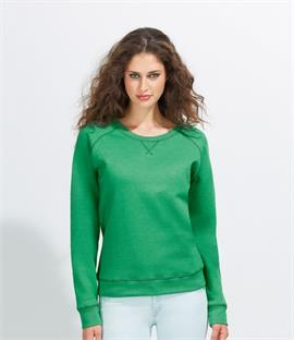 SOLS Ladies Studio French Terry Raglan Sweatshirt
