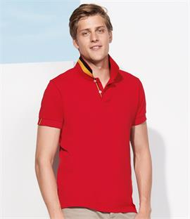 SOLS Patriot Cotton Pique Polo Shirt