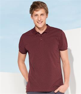 SOLS Brandy Polka Dot Pique Polo Shirt