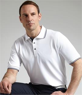 Glenmuir Golf Tipped Piqué Polo Shirt