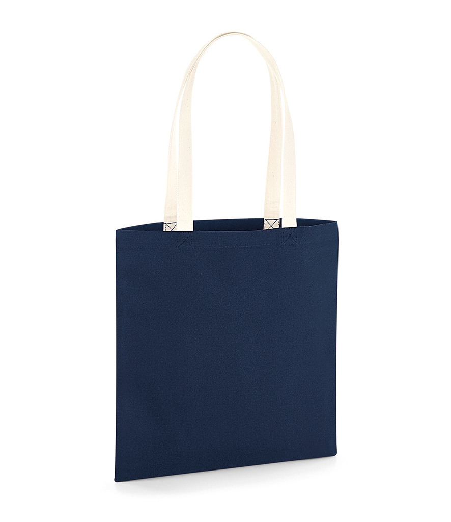 61a9a231cab Westford Mill EarthAware™ Organic Bag For Life - Contrast Handles Code:  W801C
