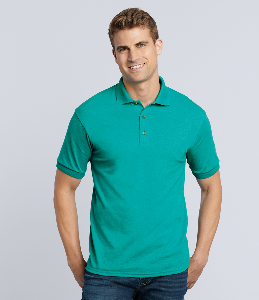 8f2e9f829 Gildan DryBlend Jersey Polo Shirt - Fire Label
