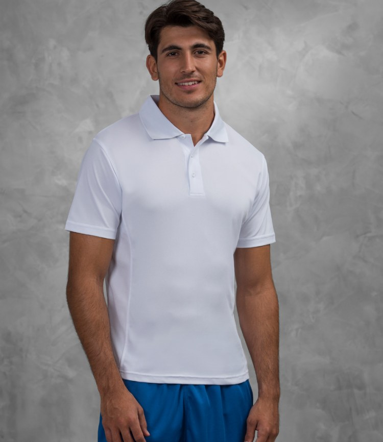 4ab85bd8 AWDis Just Cool SuperCool Performance Polo Shirt - Fire Label