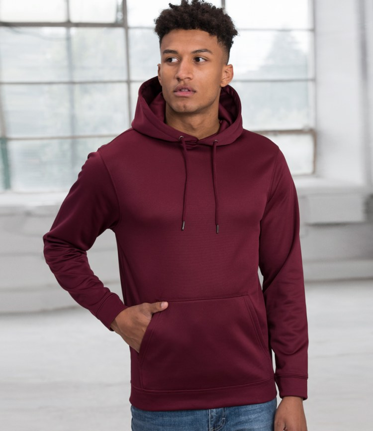 69045a1aa AWDis Sports Polyester Hoodie