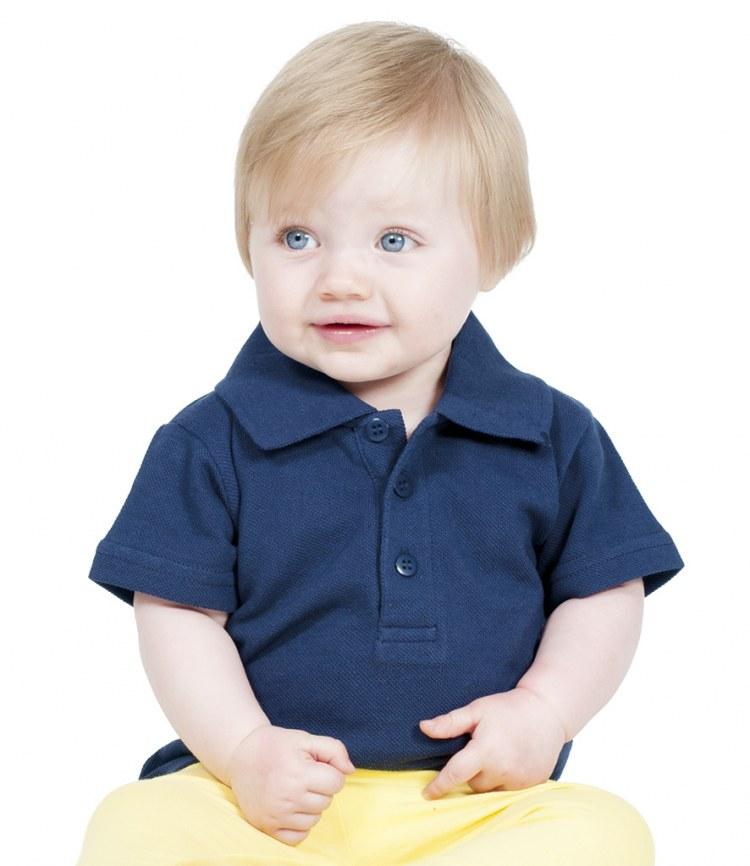 e9e797631 Larkwood Baby/Toddler Polo Shirt - Fire Label