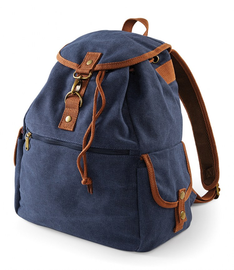 0a5799f98 Quadra Vintage Canvas Backpack - Fire Label