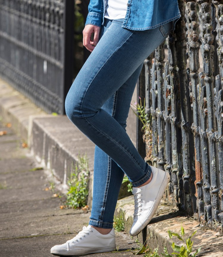 360a76fc020f So Denim Ladies Lara Skinny Jeans - Fire Label