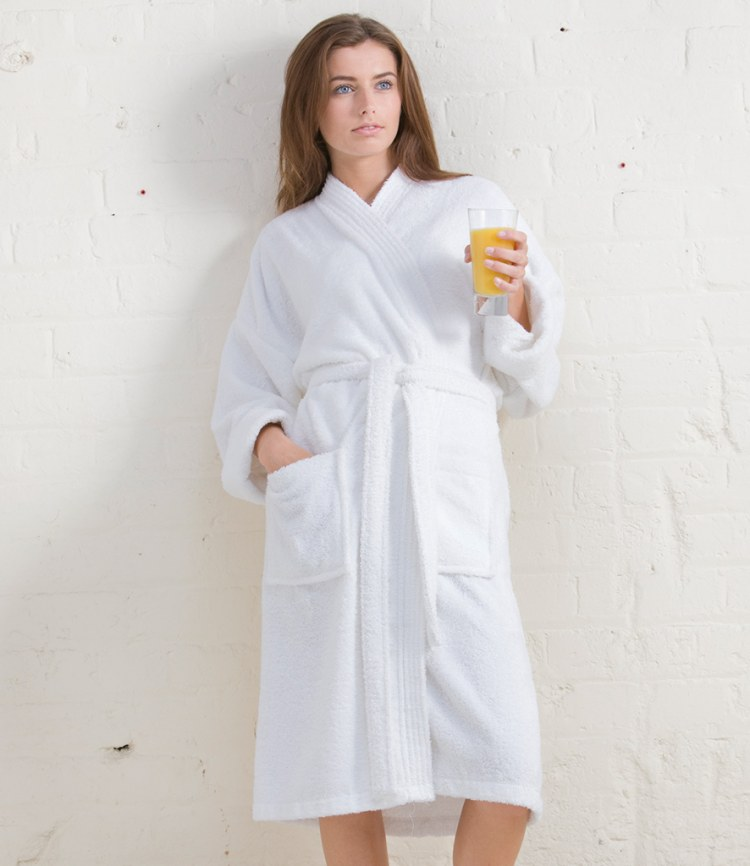 4b7ad6732a Towel City Kimono Towel Robe - Fire Label