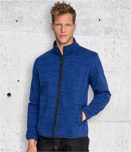 SOLS Turbo Pro Knitted Fleece Jacket