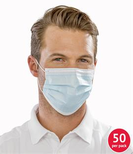 Result 3-Ply Disposable Medical Mask