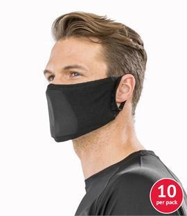 Result Anti-Bacterial Face Cover Pack of 10