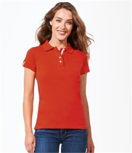 SOLS Ladies Portland Cotton Pique Polo Shirt