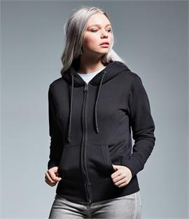 Anthem Ladies Organic Full Zip Hoodie