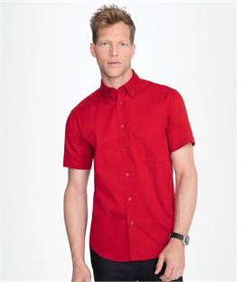 SOLS Brooklyn Short Sleeve Twill Shirt