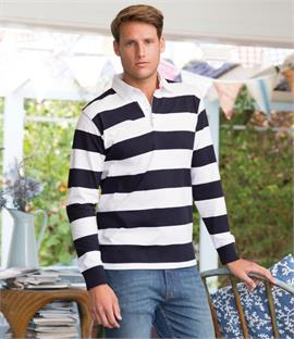 Front Row Striped Rugby Shirt